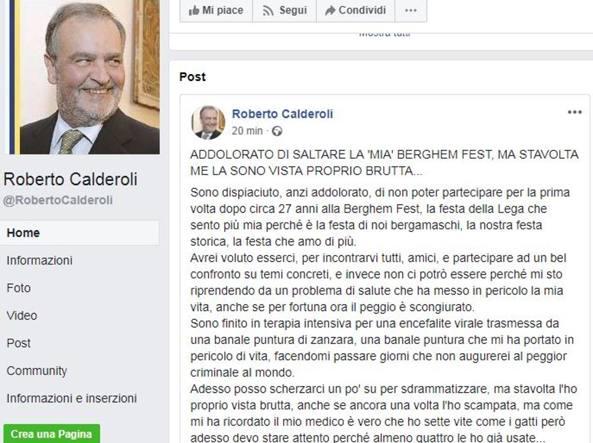 Niente Berghem Fest per Calderoli