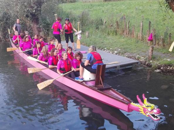 La «Dragon boat»