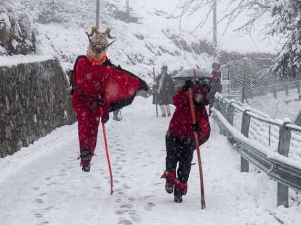 Maschere Tradizioni E Formaggi Torna Il Carnevale Di Valtorta