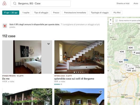 Tassa di soggiorno, accordo tra Airbnb e Comune di Bergamo - Corriere.it