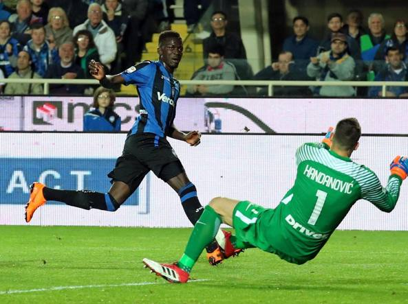Musa Barrow, attaccante dell'Atalanta