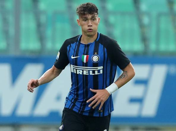 Davide Bettella dell'Inter, 18 anni