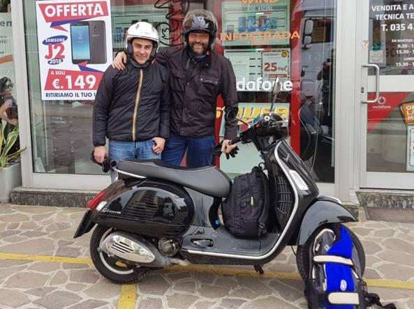 A Roma in Vespa: «Incitati per 8 ore durante il tragitto»