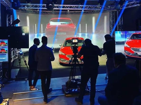 L'evento in streaming di Bonaldi per lanciare la nuova Seat Leon