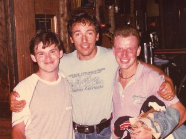 «Quella sera, noi al bar insieme a Bruce Springsteen»