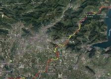 Ciclovia Milano-Monaco, la mappa del tratto bergamasco