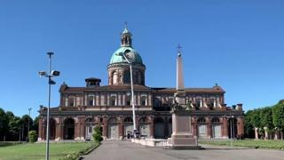 Maltempo, i primi controlli alla cupola del Santuario di Caravaggio