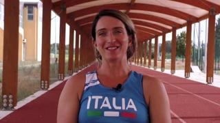 Martina Caironi nel cortometraggio sulla pandemia presentato a Venezia