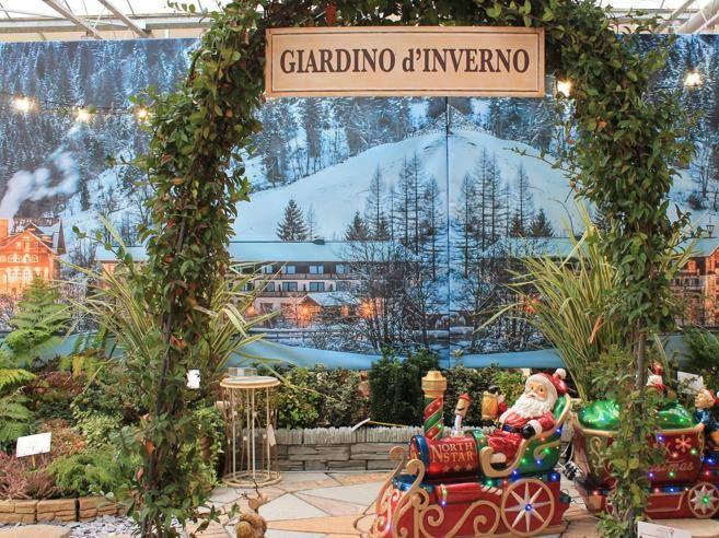 Al Centro Verde di Caravaggio il Christmas Garden riproduce i classici mercatini natalizi - Corriere Bergamo - Corriere della Sera