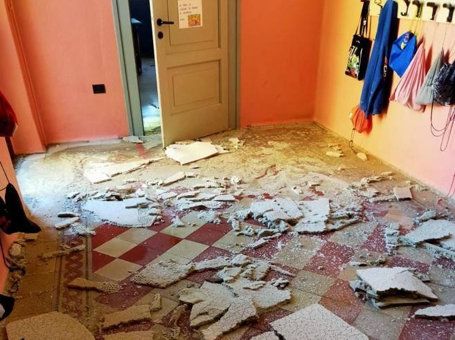 Bergamo, la grandinata in Val Seriana A Nembro danni alla scuola, a Scanzo rovinati i vigneti
