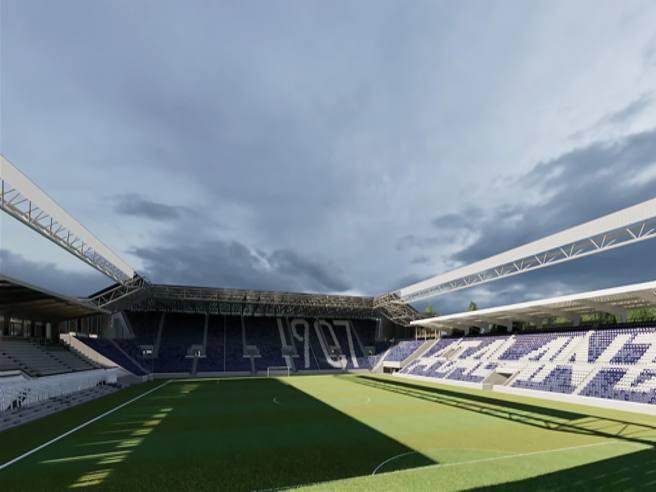 Gewiss Stadium, le nuove immagini del progetto - Corriere TV